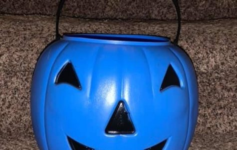 Blue buckets on Halloween ensure that every child, regardless of abilities, are able to have a voice and participate during everyday activity, including Halloween.