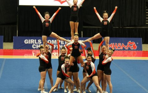 Upcoming competitive cheerleading Season