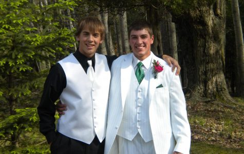 Mr. Aaron Haynak (right) graduated from Clare High School in 2012. He was involved in football, basketball, and baseball. Mr. Brent Luplow (left) graduated from Clare High School in 2012. He played football, basketball and baseball. Luplow and Haynak were friends in high school.